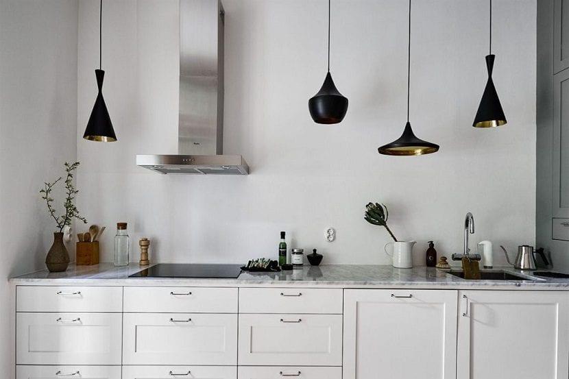 5 tipos de lámparas para la cocina