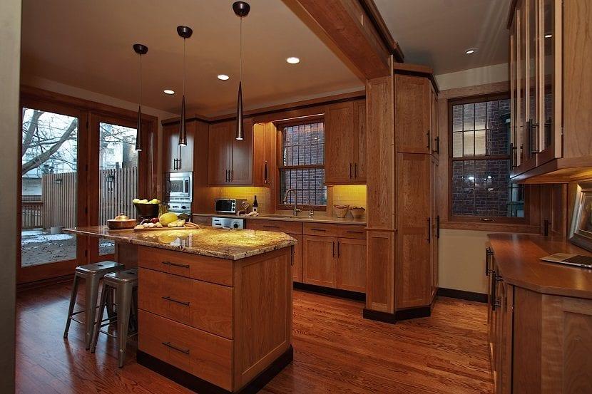 5 tipos de l mparas para la cocina for Decoracion casa clasica moderna