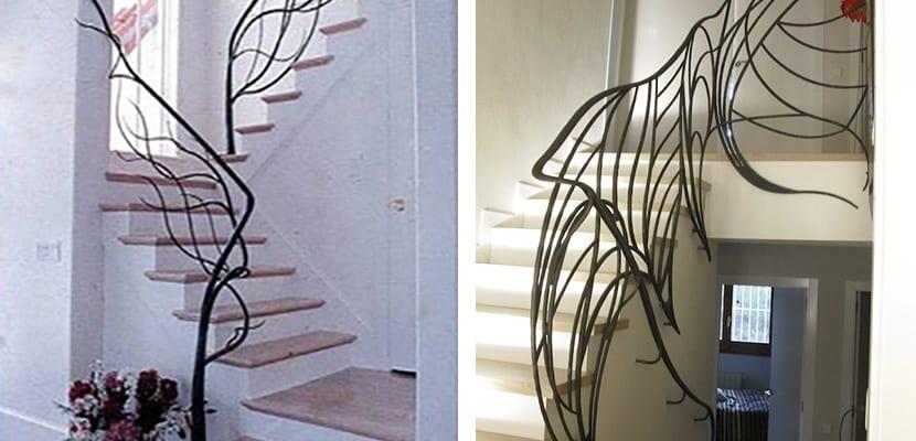 Ideas para elegir las barandillas de escalera - Barandillas de forja ...