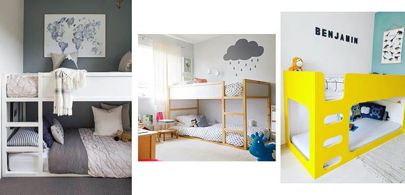 Tipos de literas para dormitorios infantiles y juveniles - Habitacion con literas para ninos ...