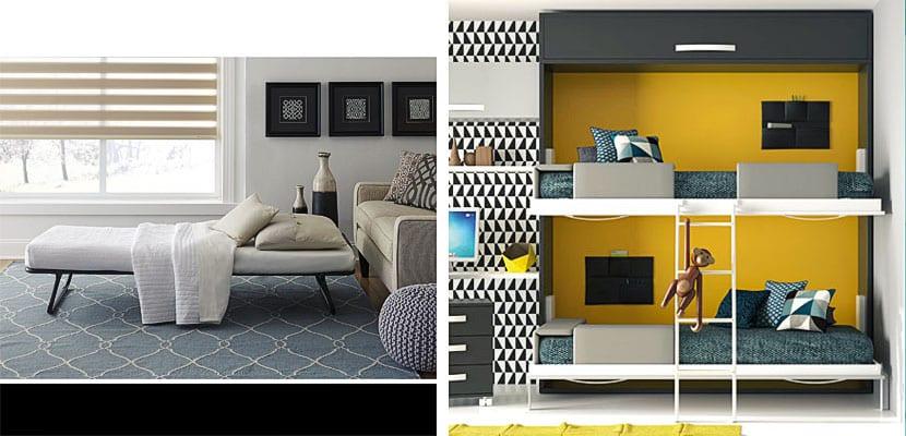 Camas plegables o abatibles para optimizar peque os espacios - Camas muebles plegables ...