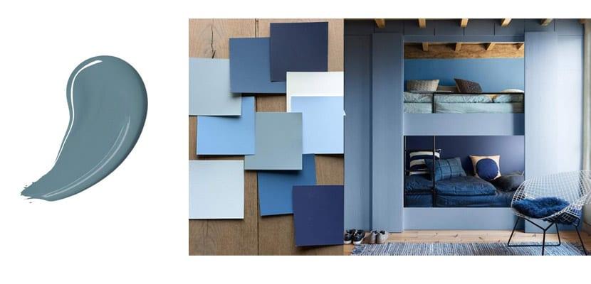 Pinturas Bruguer-Denim gris