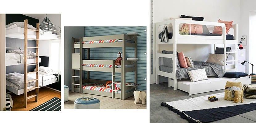 tipos de literas para dormitorios infantiles y juveniles