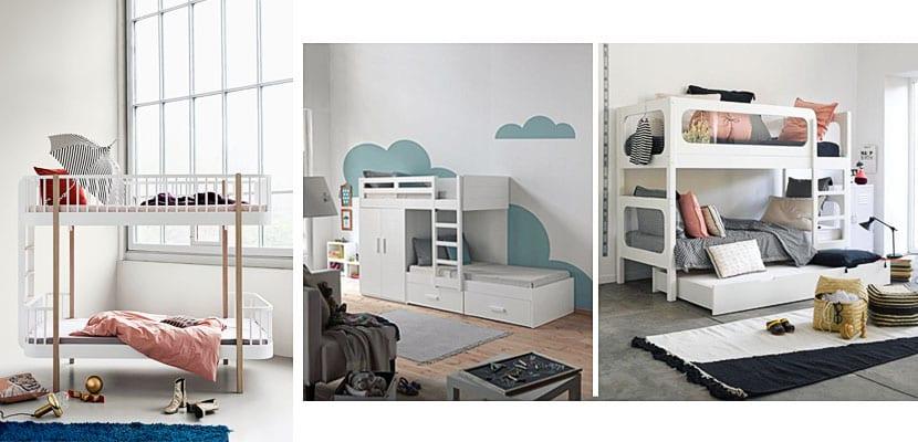 Tipos de literas para dormitorios infantiles y juveniles for Bautista muebles y decoracion