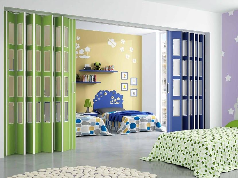 Beneficios de las puertas plegables en el hogar - Puertas de madera plegables ...