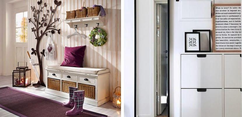 Ideas Y Trucos Para Decorar Recibidores Pequenos - Muebles-recibidores-pequeos