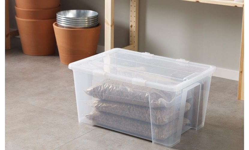 cajas de plástico para almacenar