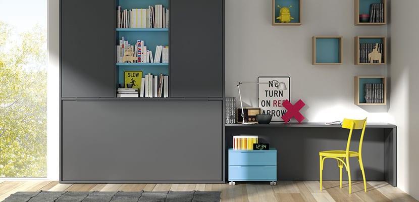 Mueble abatible