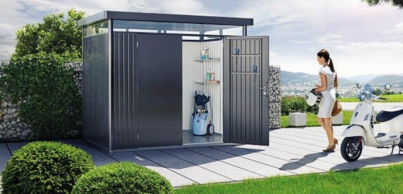 Casetas de jard n gana espacio de almacenage o vivienda for Casetas de hierro galvanizado