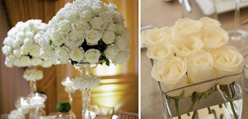 Centros de flores elegantes