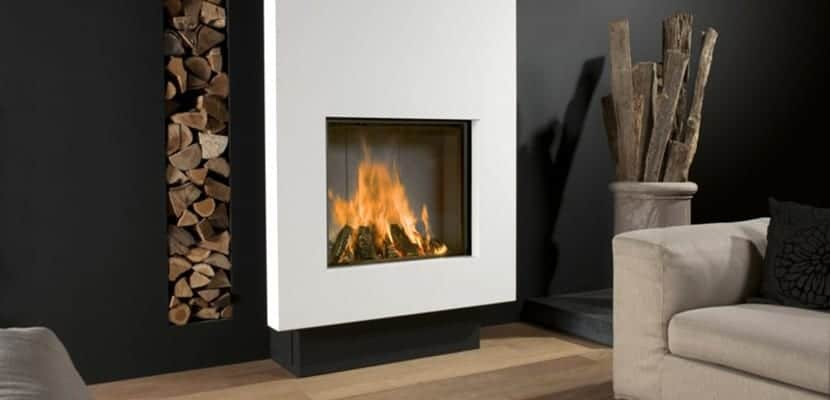 Decorar el hogar con chimeneas modernas - Tipos de lena para chimeneas ...