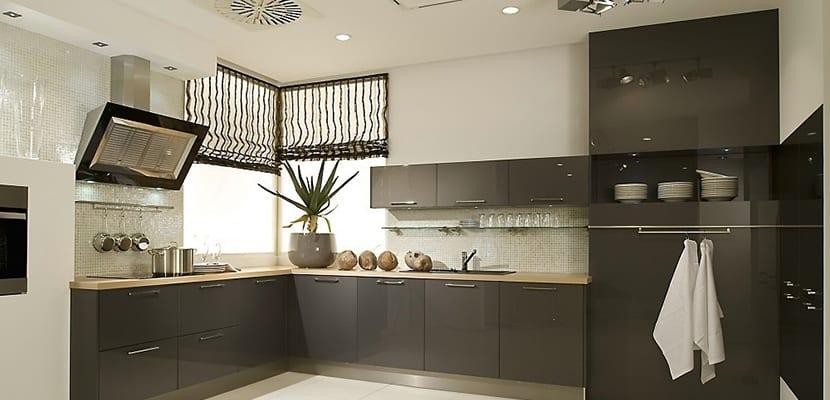 Dise o de las cocinas en l ideas pr cticas for Cocina y lavadero integrados