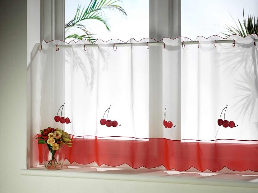 Ideas para las cortinas de cocina for Cortinas de cocinas ideas