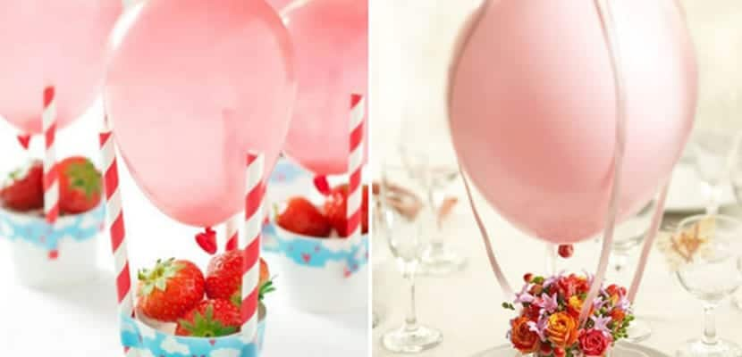 Globos y fiestas