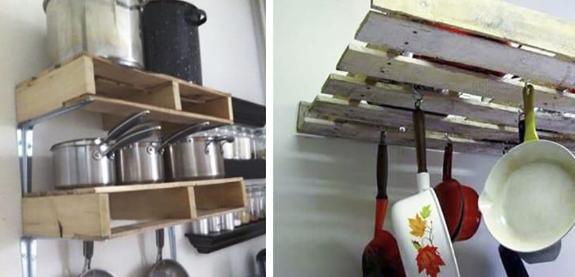 Estanterías para utensilios