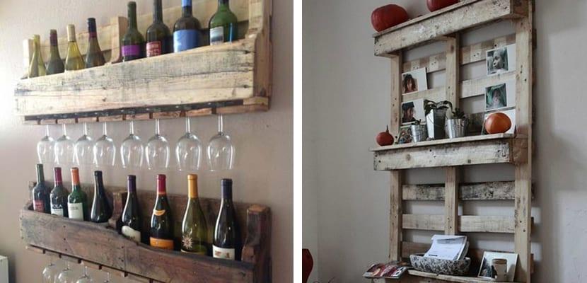 Estanter as con palets ideas para decorar el hogar - Estanterias para la cocina ...