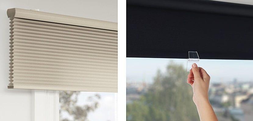 Estores de ikea aten an la luz y proporcionan intimidad for Pared que deja pasar la luz