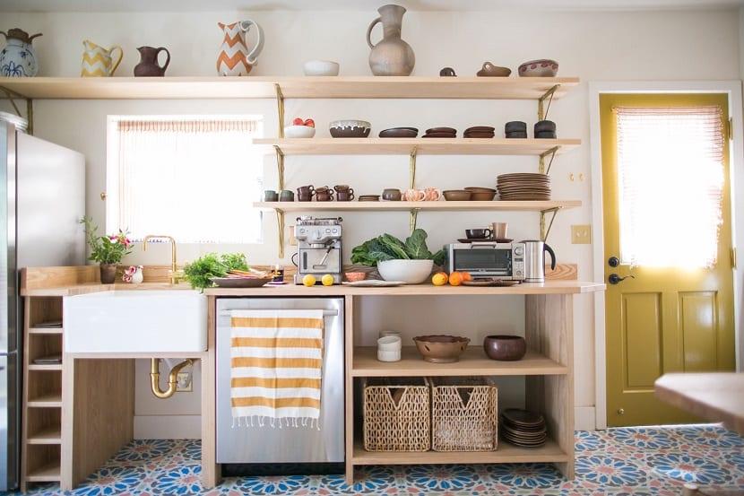 Ideas para decorar la casa con baldas de madera - Balda de madera ...