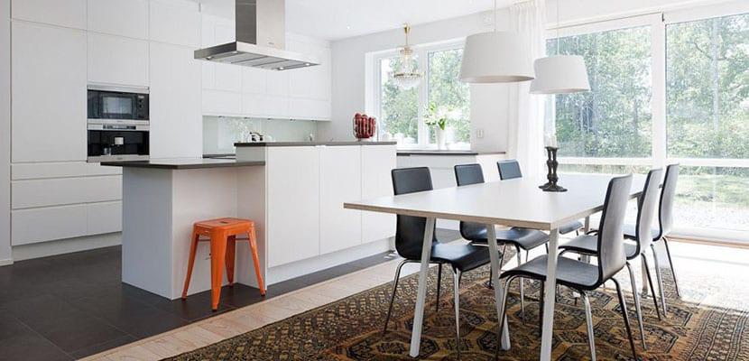 claves para decorar las cocinas abiertas al sal n
