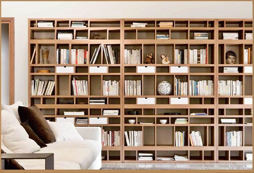 Ideas para decorar la casa con baldas de madera - Estanterias para cocina ...