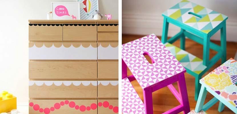 Colores en los muebles
