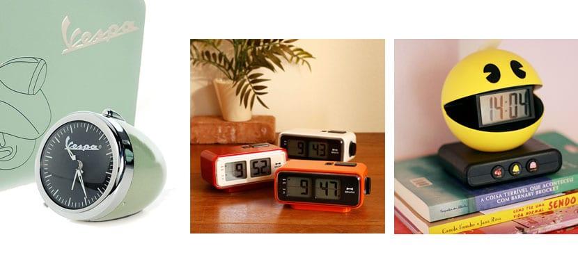 Despertadores originales para nostálgicos