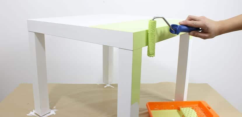 Pintar un mueble de melamina