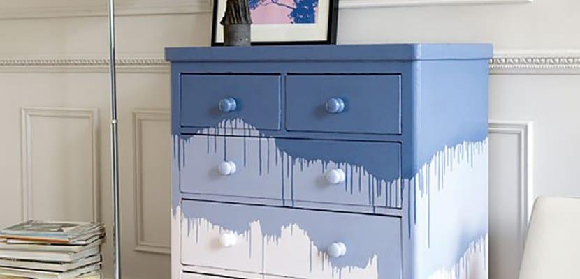 Instrucciones sobre c mo pintar un mueble - Muebles en crudo para pintar ...