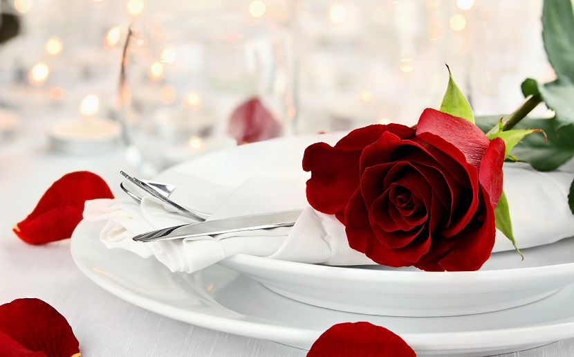 decoracion de cena romantica