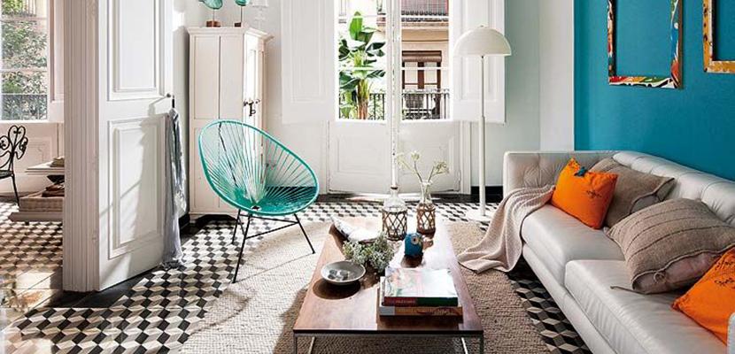 Decora tu hogar en el estilo ecl ctico de moda - Estilos de mobiliario ...