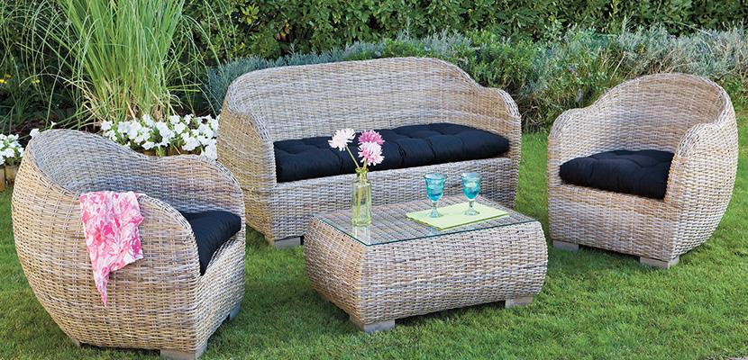 Muebles De Jardin En.Elegir Los Muebles De Jardin Para Un Bonito Exterior