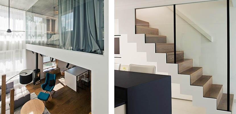 Paredes de cristal gana amplitud y luminosidad en tu hogar - Cristales para paredes ...