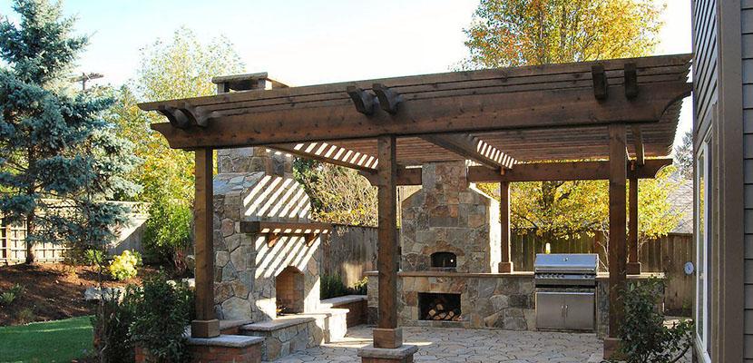 C mo crear patios r sticos en el hogar for Zocalos rusticos para patios