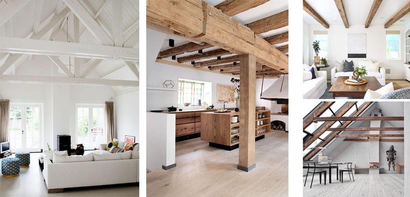 Vigas de madera un elemento decorativo muy valorado - Techos falsos de madera ...