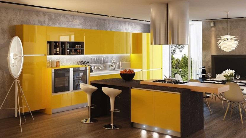 C mo decorar tu casa con el color mostaza for Quiero disenar mi cocina