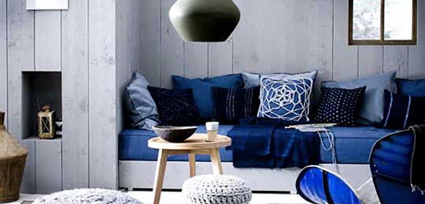 Decora el hogar en el color azul a il - Scandinavische blauwe ...