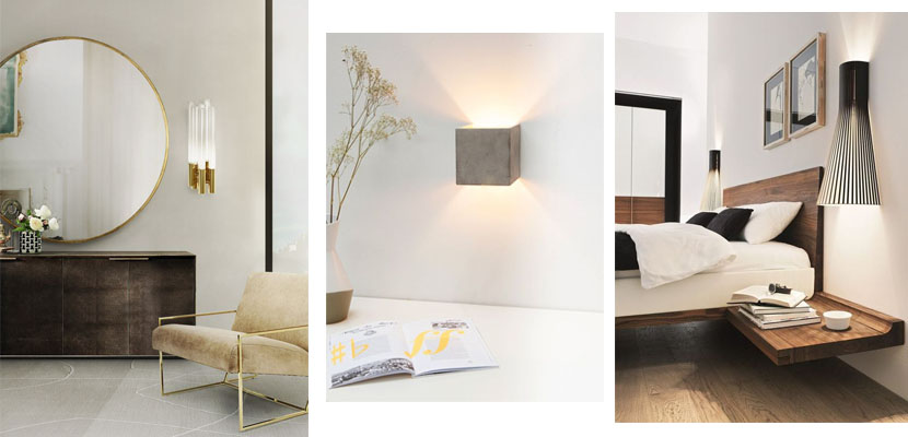 L mparas de pared para iluminar y decorar nuestro hogar for Plafones para pared