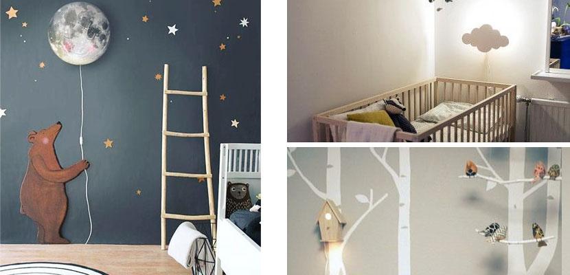 Lámparas de pared para niños