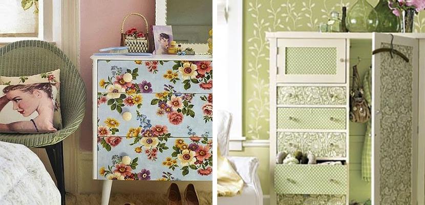 Decorar el hogar con muebles antiguos es tendencia - Muebles antiguos pintados ...