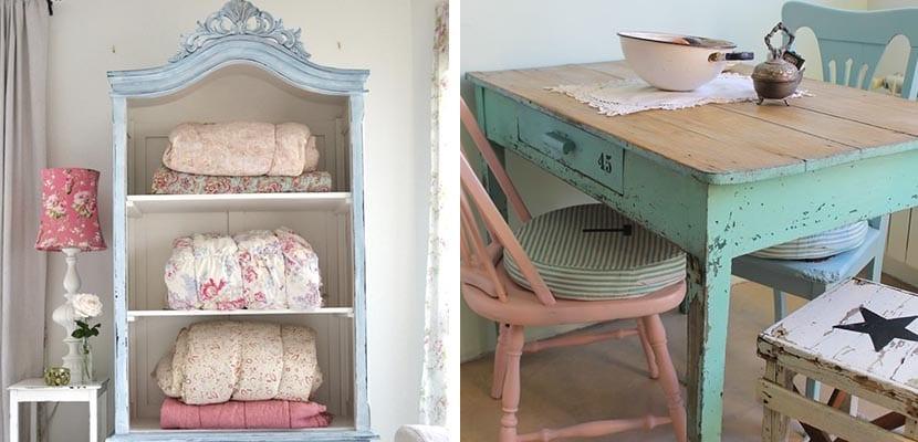 Decorar el hogar con muebles antiguos es tendencia