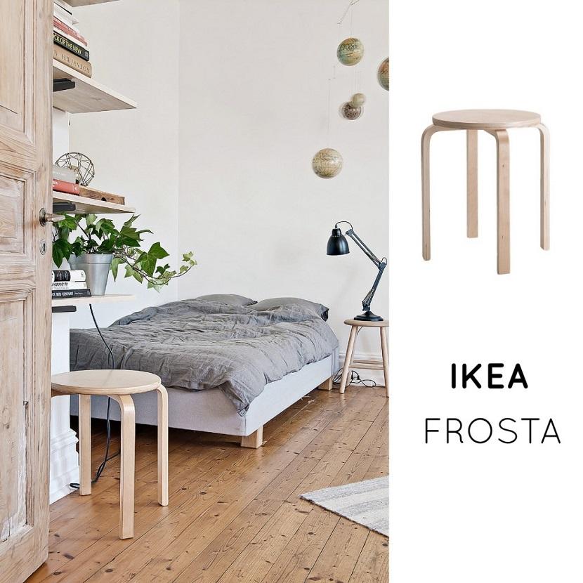 La versatilidad de los taburetes de Ikea