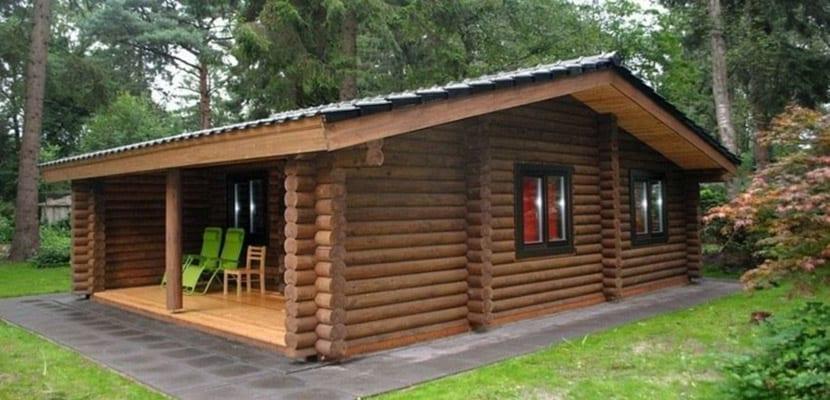 Caba as de madera tu refugio en el campo - Cabanas de madera los pinos ...