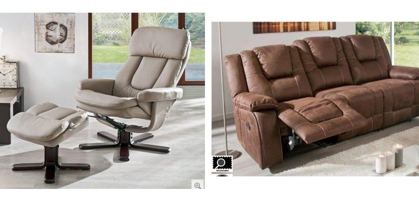 Sofa relax Conforama
