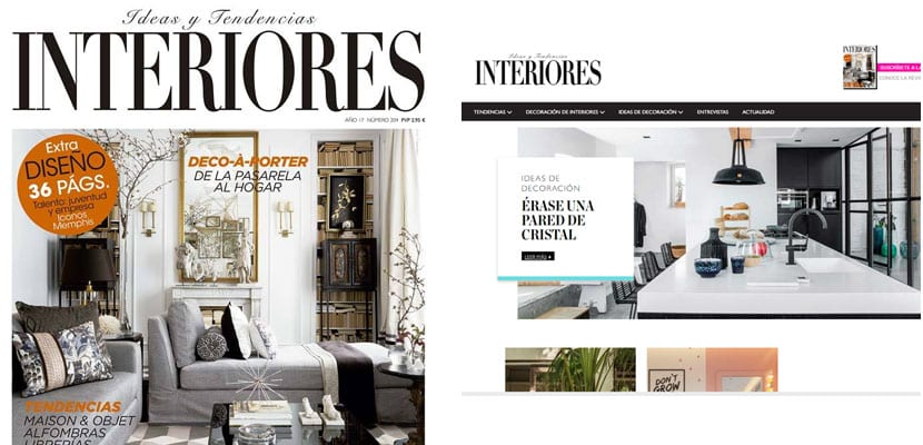 Revistas de decoraci n encuentra la inspiraci n para Revista interiores ideas y tendencias