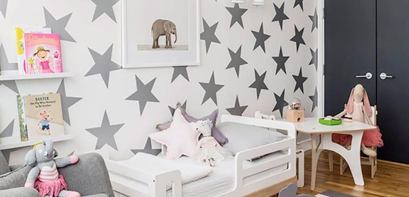 Papel pintado estrellas