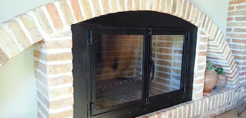 A adir unas puertas para chimeneas s o no - Puertas de vidrio para chimeneas ...