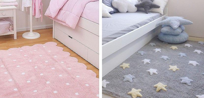 Decora tu casa con las bonitas alfombras lorena canals - Alfombras redondas infantiles ...