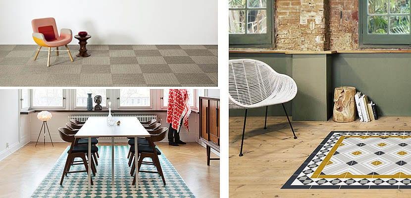 Alfombras de vinilo modernas duraderas y funcionales for Imagenes alfombras modernas