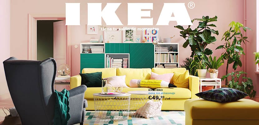 cat logo de ikea 2018 llena tu sal n de momentos. Black Bedroom Furniture Sets. Home Design Ideas