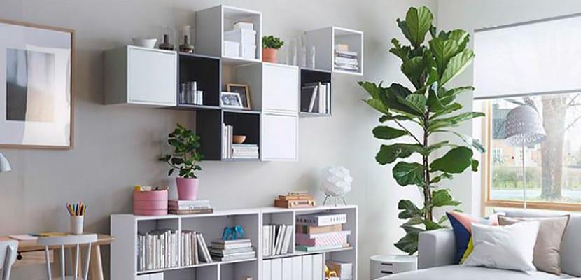 Estanter a modular una pieza vers til y funcional - Ikea muebles modulares ...